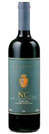 Argiano NC Non Confuditur Tuscan wine bottle