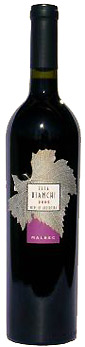 Elsa Bianchi Malbec wine bottle