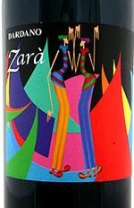 Dardano Zara Langhe Rosso Barbera Dolcetto red wine bottle