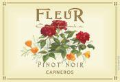 Fleur Pinot Noir red wine label
