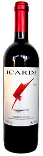 Icardi Barbera d'Asti wine bottle