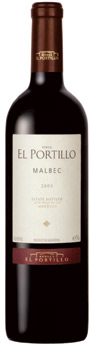 Bodegas Salentein Finca El Portillo Malbec wine bottle