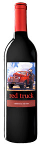 Red Truck Red Wine bottle