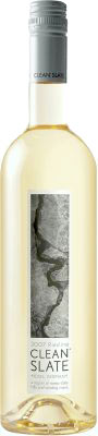 Clean Slate Riesling wine bottle