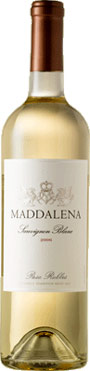San Antonio Winery Maddalena Sauvignon Blanc wine bottle
