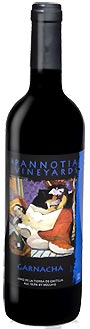 Pannotia Garnacha Spanish Wine bottle