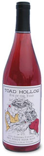 Toad Hollow pink Rose wine pinot noir carneros