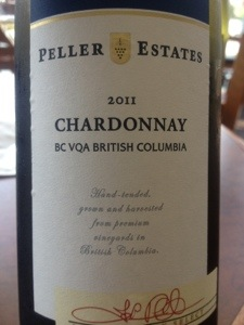 peller estates chardonnay okanagan valley canada