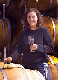 Winemaker Elizabeth Vianna of Chimney Rock Winery