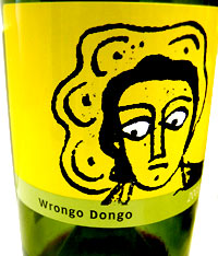 Wrongo Dongo wine bottle