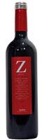 Zeta Garnacha red wine bottle