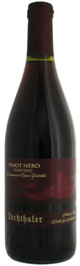 Lechthaler Pinot Nero Noir red wine from Trentino Italy